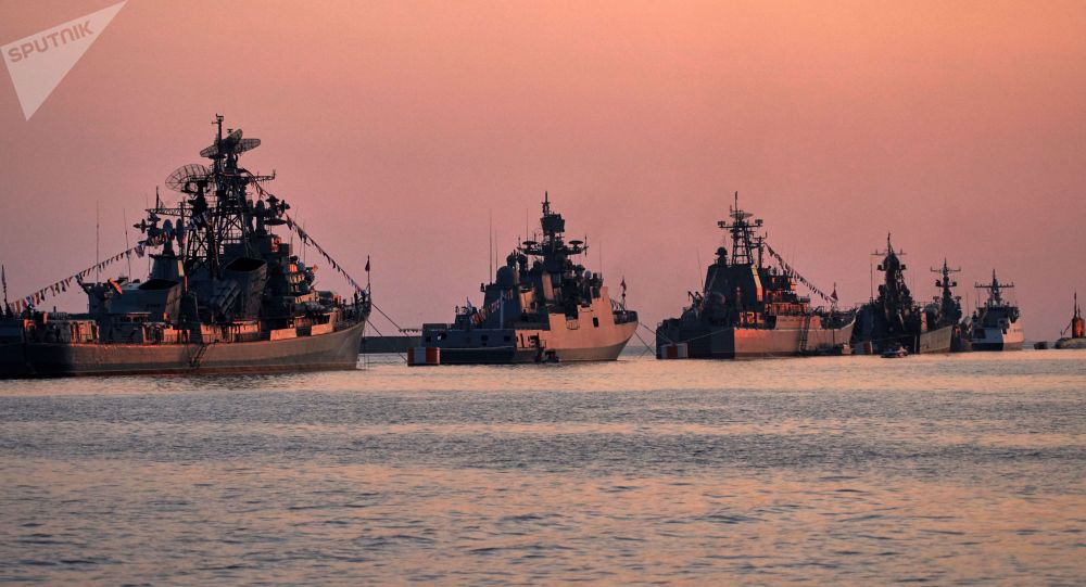 Warships in the Bay of Sevastopol