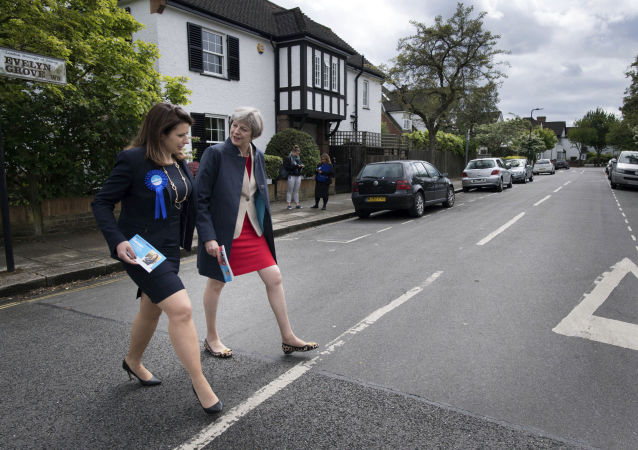 Joy Morrissey (pictured with Theresa May at the 2017 election) became a Conservative MP after defeating Dominic Grieve in Beaconsfield
