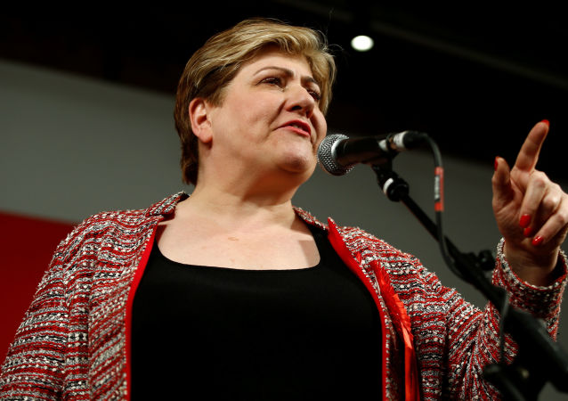 Britain's Labour Party candidate Emily Thornberry speaks during a final general election campaign event in London, Britain, December 11, 2019