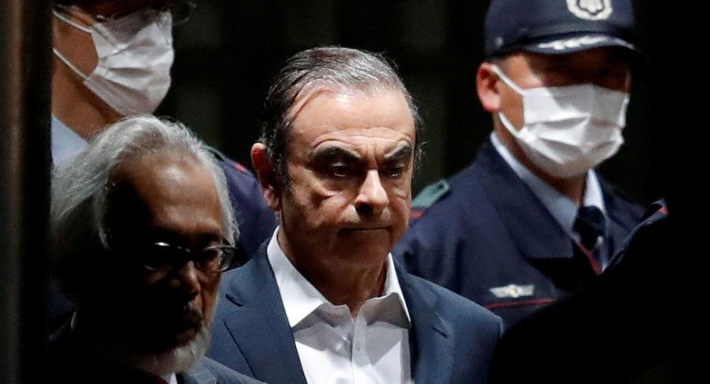 Former Nissan Motor Chariman Carlos Ghosn