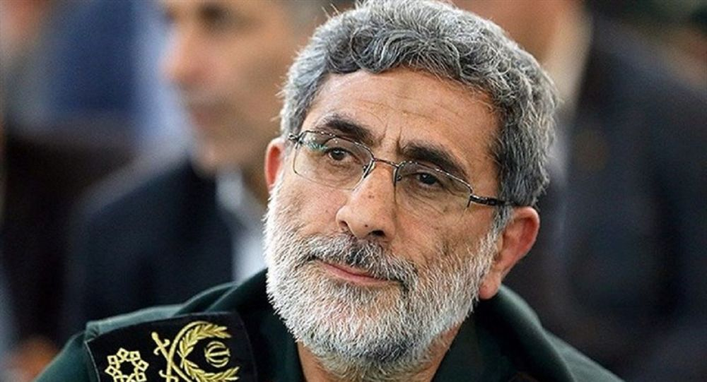 Brigadier General Esmail Ghaani, the newly appointed commander of the country's Quds Force