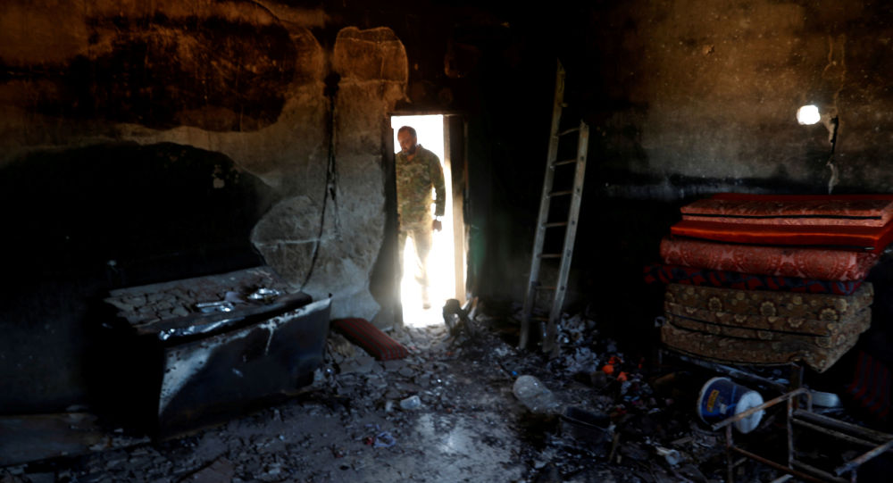 A fighter loyal to Libya's U.N.-backed government (GNA)