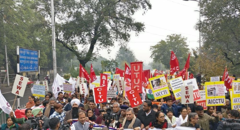 All India Strike: 250 Million Workers Gear Up Against Modi Government's Anti-Labour Policies