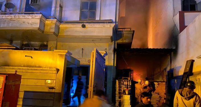 Massive Fire Breaks out at Paper Factory in Delhi's Patparganj Area