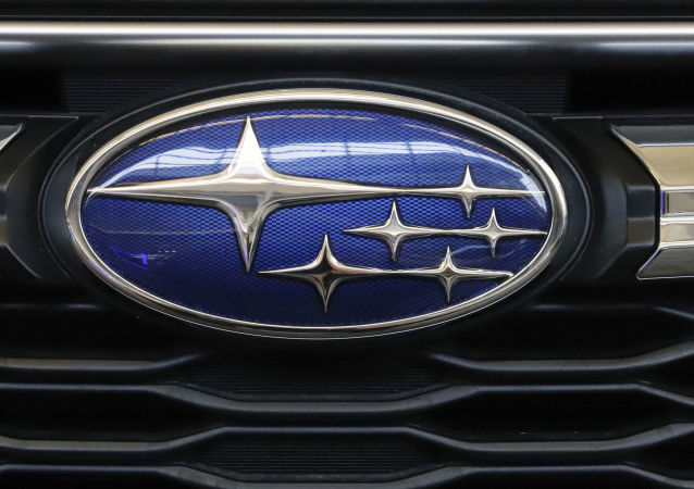 n this Feb. 14, 2019, file photo the Subaru logo on the front grill of a 2019 Subaru Impreza sedan is displayed at the 2019 Pittsburgh International Auto Show in Pittsburgh. Subaru is recalling over 400,000 vehicles in the U.S. to fix problems with engine computers and debris that can fall into motors. The first recall covers 466,000 Imprezas from 2017 through 2019, and 2018 and 2019 Crosstreks.