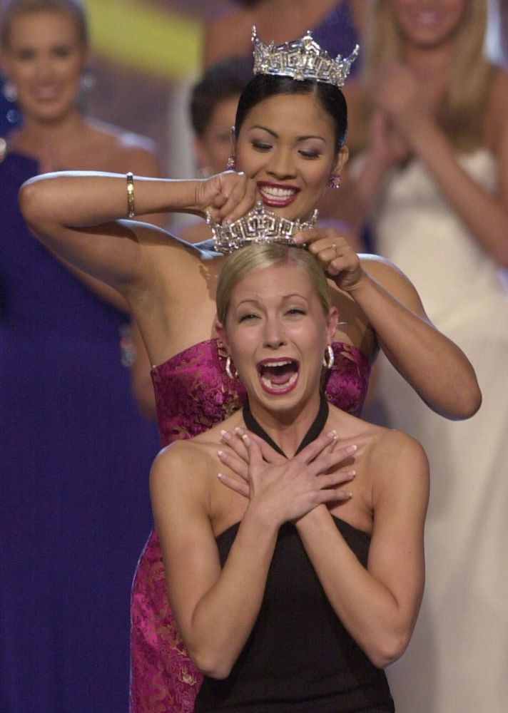 Мисс Америка 2002 Кэти Харман
