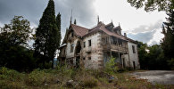 Abandoned castle of philanthropist Mikhail Aramyants in Armenia