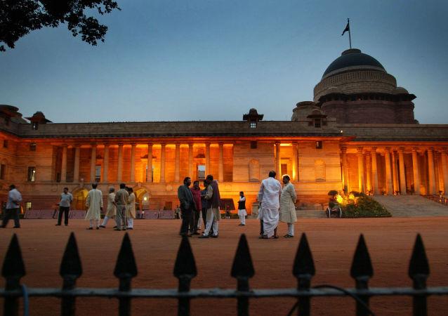 Presidential Palace . Legislative Assembly (MLA)  New Delhi, India (File)