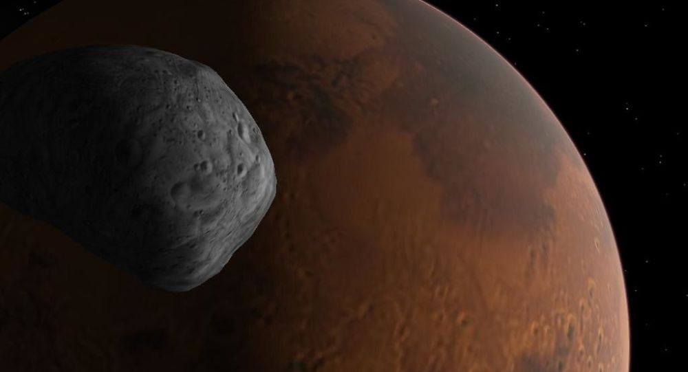 Russian-European Mars Orbiter Detects Hydrogen Chloride in Red Planet's Atmosphere