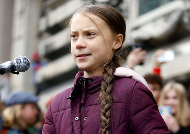 Swedish teenage climate activist Greta Thunberg takes part in a demonstration of the Fridays for Future movement in Lausanne, Switzerland January 17, 2020