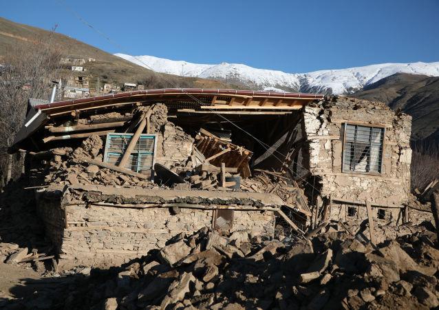 Turkish Village Totally Destroyed After Quake in Elazig