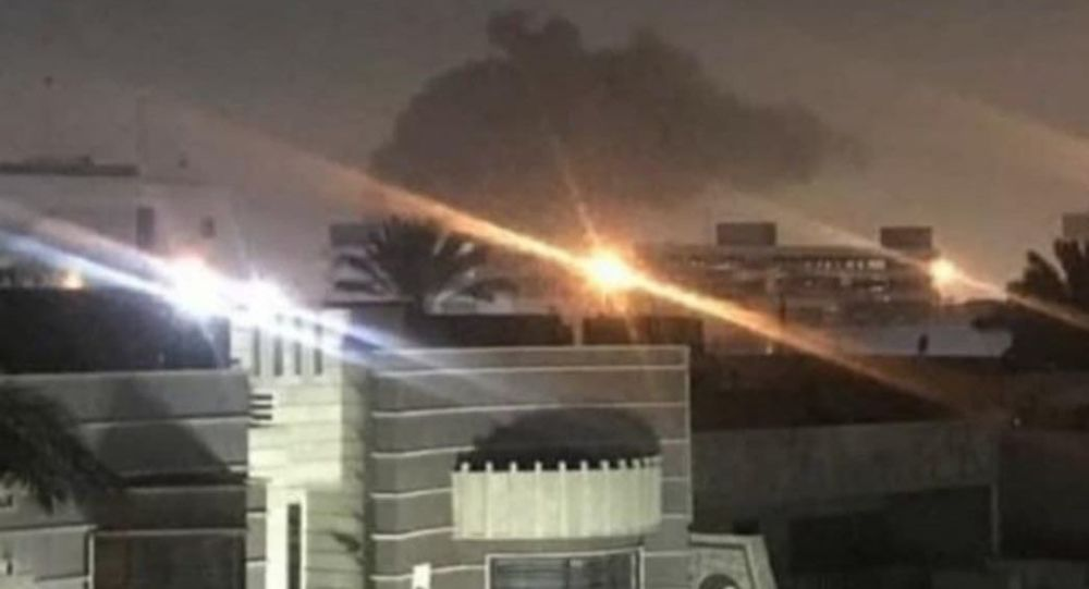 Rockets strike near U.S. Embassy in Baghdad; no injuries
