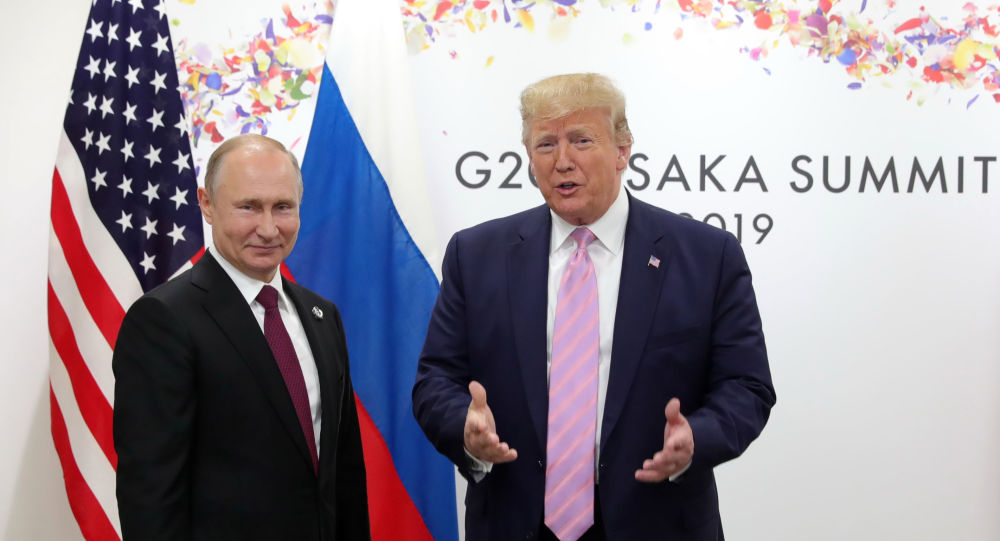 Trump Claims Putin Likes Him, But Doesn't Want Him to Win Election in 2020