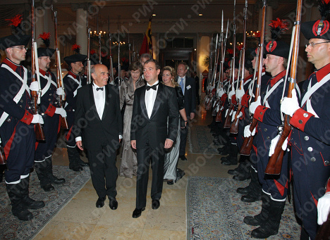 Dmitry Medvedev in Switzerland