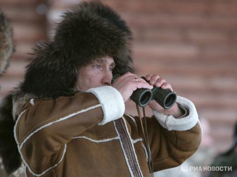 Vladimir Putin in Khakassia