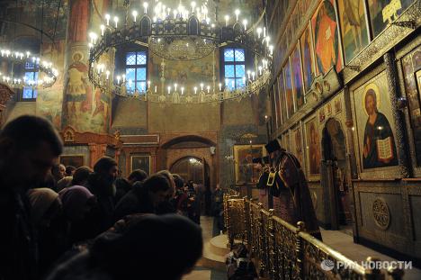 Sretensky Monastery on Bolshaya Lubyanka Street