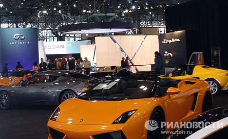 The Batmobile and other outlandish vehicles at the New-York car show