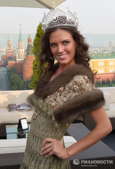 Russia's representative at Miss Universe 2010