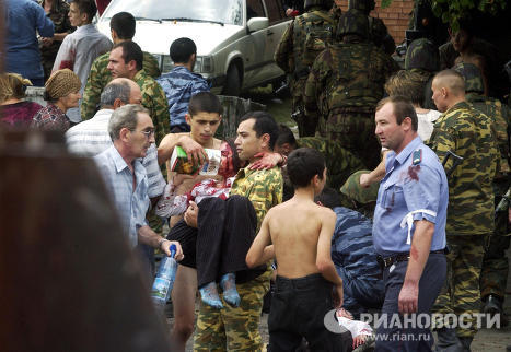 Beslan tragedy, September 2004