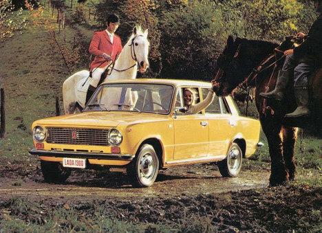 Ретро-реклама советского автопрома