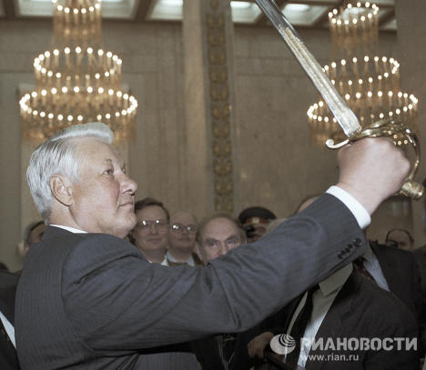 Boris Yeltsin and his role in modern Russian history