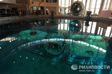 Cosmonauts train in Star City