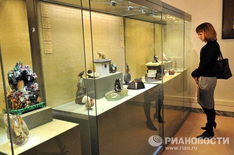 Выставка в музее фаберже