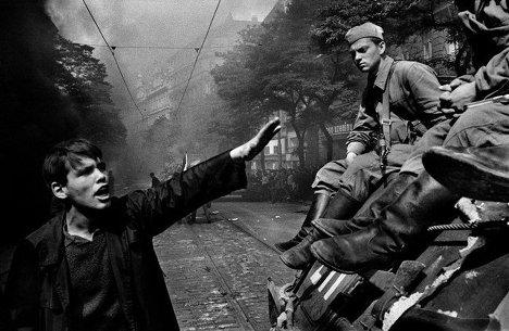 Йозеф Коуделка, «Вторжение 68 Прага»