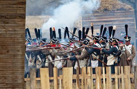 Традиционная реконструкция сражения под Мал