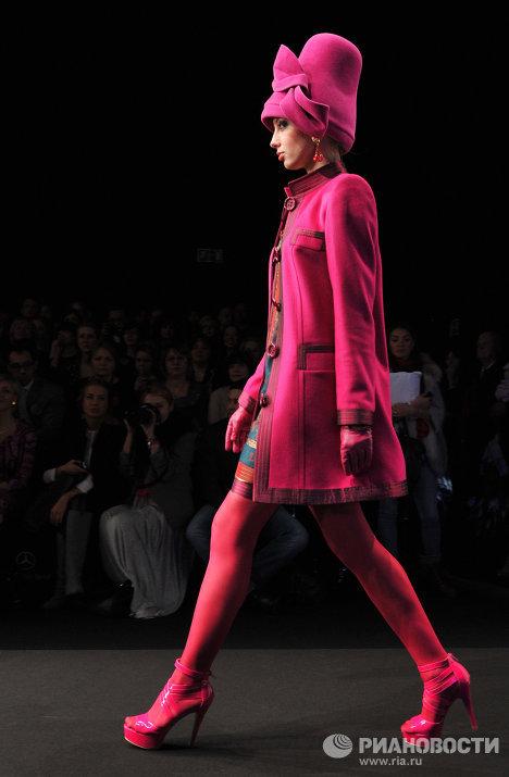 Показ Slava Zaitsev в рамках Mercedes-Benz Fashion Week Russia