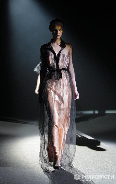Закрытие Mercedes-Benz Fashion Week Russia