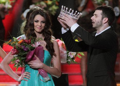 Победительница конкурса Мисс Украина-2012