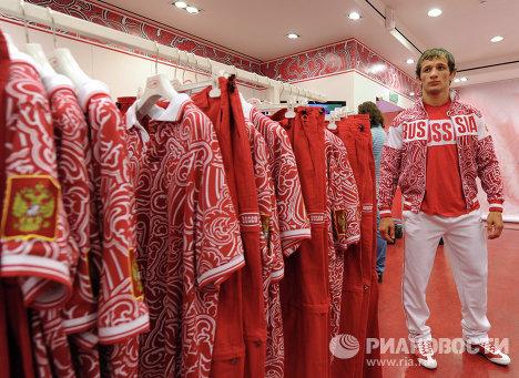 Экипировка олимпийских сборных России
