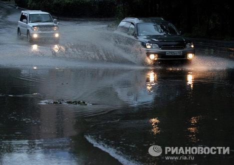 Тайфун Болавен в Приморье