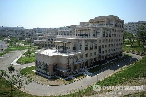 Гостиничный комплекс Дальневосточного Федерального Университета