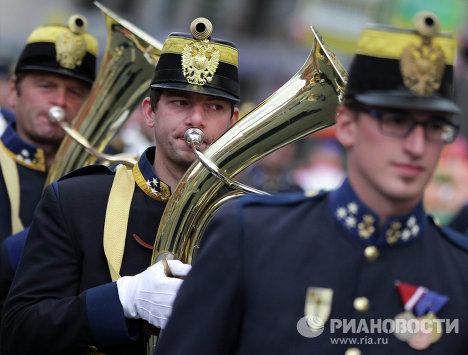 Австрийский оркестр 4-ого Венского императорского и королевского пехотного полка