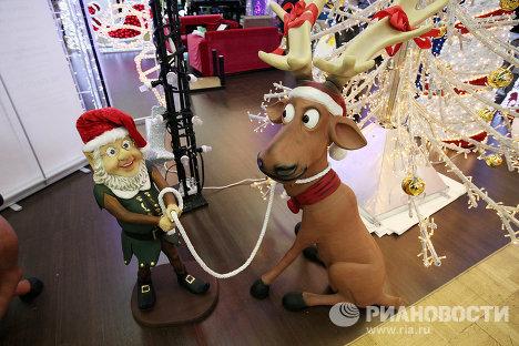 Экспонаты выставки Christmas Time в ЦДХ