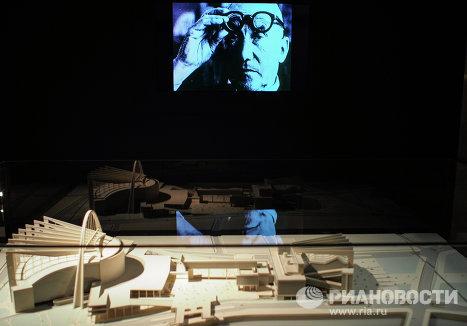 Макет Конкурсный проект Дворца Советов. Москва, Россия. 1931-1932 гг.