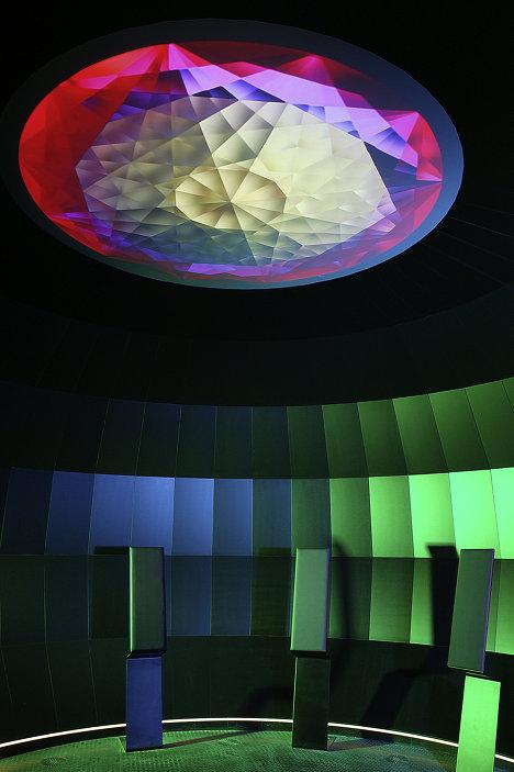 Кристаллоскоп в музее Swarovski Kristallwelten