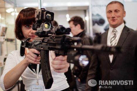 Открытие XVI международной выставки Интерполитех-2012