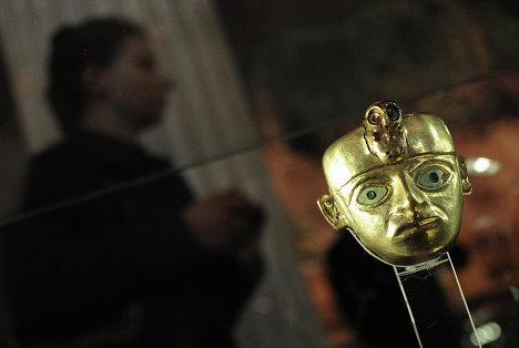 Открытие выставки 1000 лет золота инков