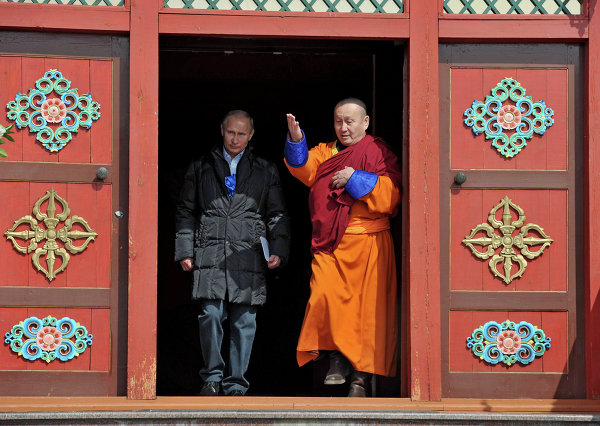 Image result for russian buddhist republic