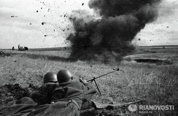Бронебойщики на Курской дуге