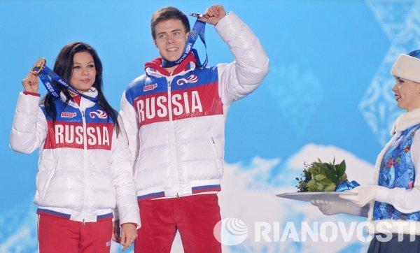 Российские фигуристы Елена Ильиных и Никита Кацалапов