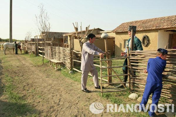 Открытие этнографического музея в Чечне