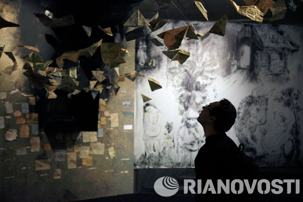 Пресс-показ выставки Юрия Норштейна Большие глаза войны