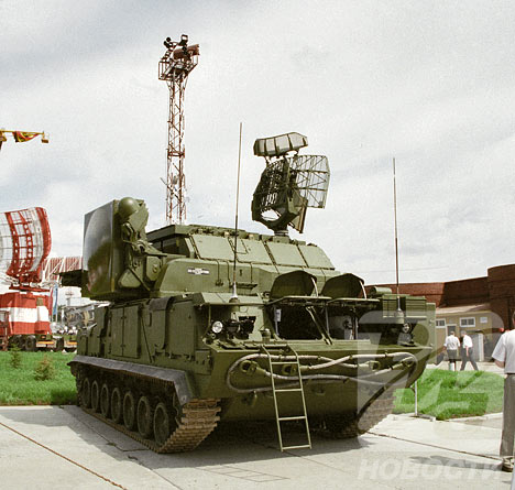Russian mobile surface-to-air missile systems