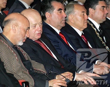 Turkmen president's inauguration ceremony