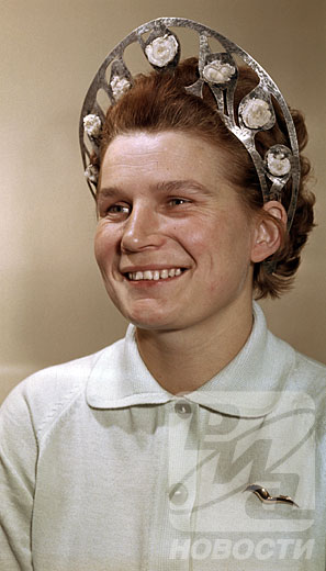 First woman in space Valentina Tereshkova  is 70