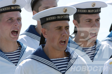 Navy Day in Russia